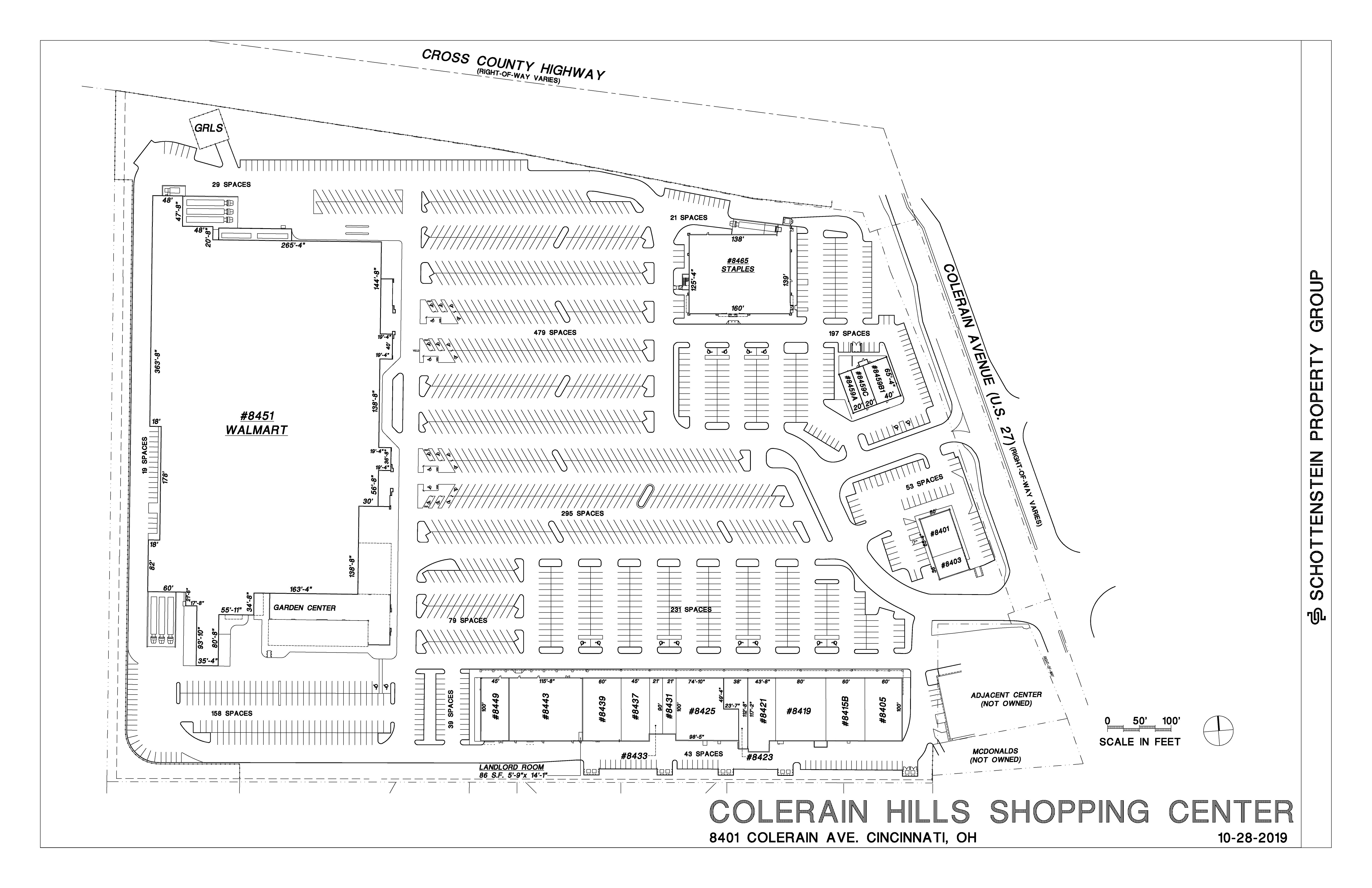 Colerain Hills Shopping Center Marketing Package