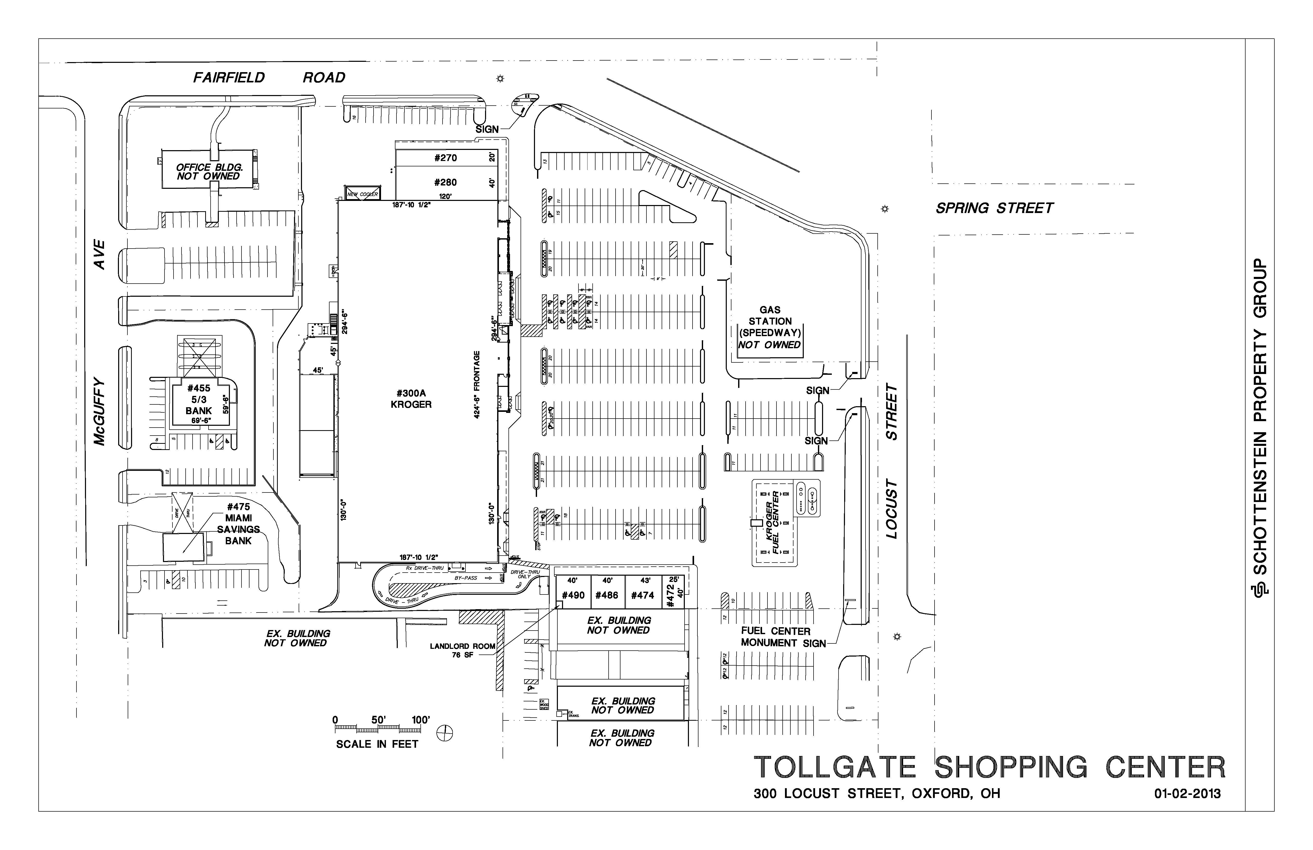 Tollgate Shopping Center -- Marketing Package